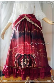 Surface Spell Freak Show Skirt and Overskirt Set(In Stock)