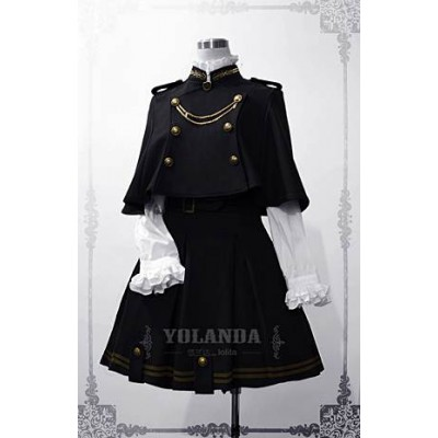 Yolanda In The Name of Father Skirt Cape Set(Pre-Made)
