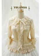 Yolanda Swan Song Blouse(Leftovers)