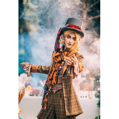 ZJ Story Mad Hatter Tea Party Jacket(Reservation/Deposit)